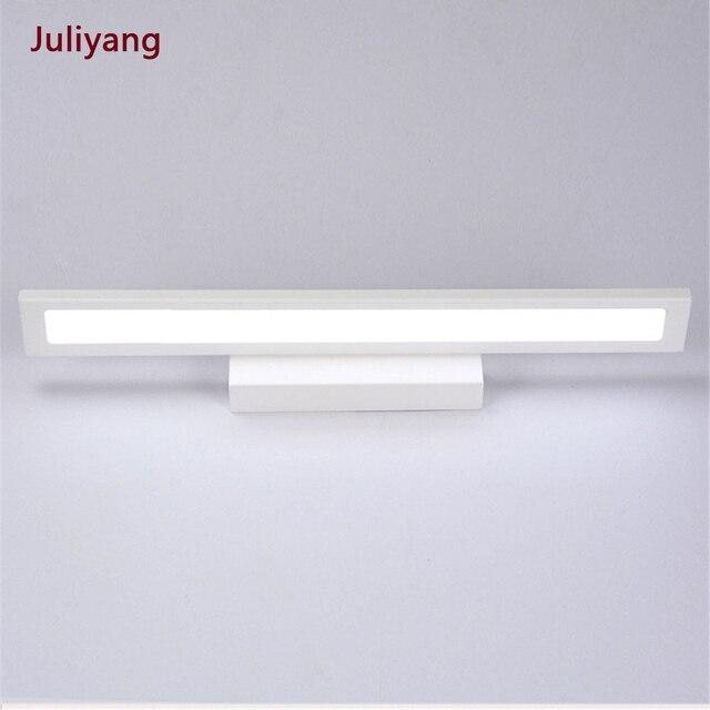 Nowoczesna minimalistyczna lampa ścienna LED lustro łazienkowe kinkiet ścienny 5W 8W 11W szafka z lustrem light AC85 265V