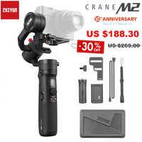 Zhiyun Crane M2 3-Axis Handheld Gimbal Mirrorless Camera Stabilizer for Sony Mirrorless Cameras Gopro Action Camera & Smartphone