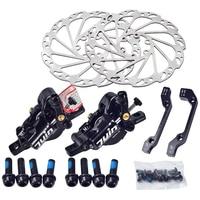Juin Tech M1 MTB MTB Electric Bicycle Disc Brake Set Cable Traction Hydraulic Disc Caliper 160mm MTB XC Oil Brake