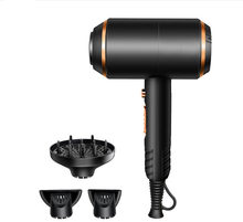 Ionic Hair Dryer 1800-2000W Professional Hair Blow Dryers with 3 Heat Settings 2 Speed One Cool Settings 2 Concentrator Nozzles(China)