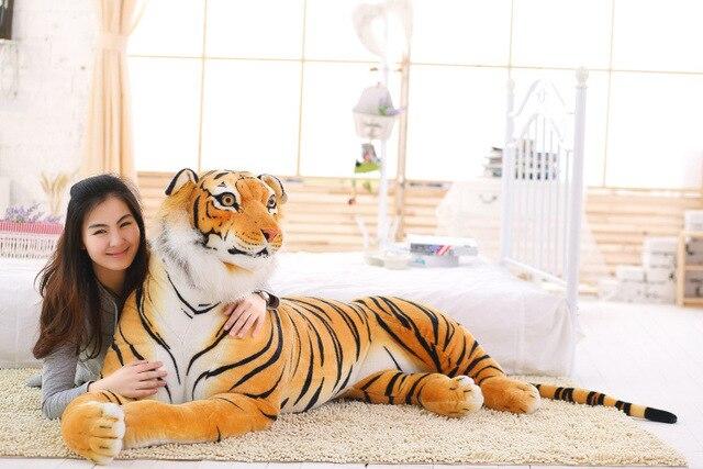 Tiger Stuffed Soft Plush Toys Furry Hand Warmer Stuffed Animals Furry New Soft Toys For Boys Brinquedo Plush Animals JJ60MR