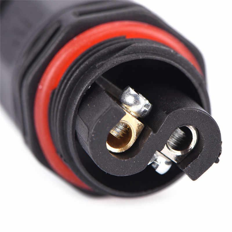 Filo 2/3 Spille Connettore Esterno Presa di corrente 8*2*2 centimetri di Un Pezzo Nuovo IP67 Impermeabile Cavo Elettrico