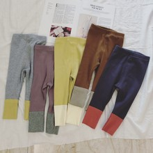 цена на Newborn Baby Girls Leggings Skinny Girls Colorful Leggings Children Clothes for Girls Ankle-length Baby Clothing Pants