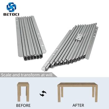 цена на BETOCI cabinet folding table telescopic track small home multifunctional desk bar telescopic slide hardware accessories