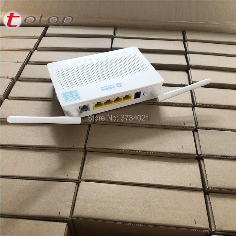 Free Shipping 40PCS/Carton Huawei HS8545M5 GPON FTTH HGU Router Modem 1GE+3FE+1TEL+USB+Wifi Same Function As HG8456M HS8545M ONU