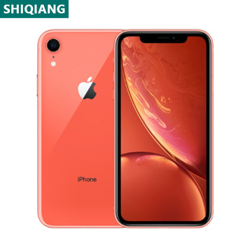 Used Original iPhone XR Smartphones 6.1inch A12 Face Unlocked 3+64/128/256GB Cellphones LTE 4G 7+12MP 1SIM Card NFC Mobile Phone