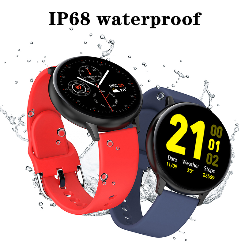 Смарт-часы LIGE с Bluetooth для мужчин и женщин, спортивный фитнес-трекер с пульсометром, для Android, IOS, Xiaomi, Huawei 4