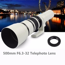 500mm F6.3 32 Telephoto Lens to & for Samsung NX1 NX3300 NX3000 NX2000 NX1000 NX1100 NX500 NX300M NX300 NX210 NX200 NX30 NX20 NX