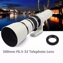 500mm F6.3 32 téléobjectif à & pour Samsung NX1 NX3300 NX3000 NX2000 NX1000 NX1100 NX500 NX300M NX300 NX210 NX200 NX30 NX20 NX