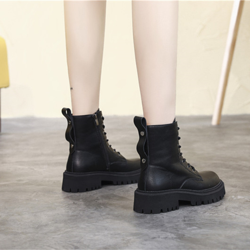 FEDONAS Ins Hot Motorcycle Boots 2021 Women Fashion Genuine Leather Ankle Boots For Women Chunky Platform New Party Shoes Woman