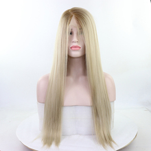 Fantasy Beauty 13x6 Lace Front Wig Ombre Blonde Free Deep Parting