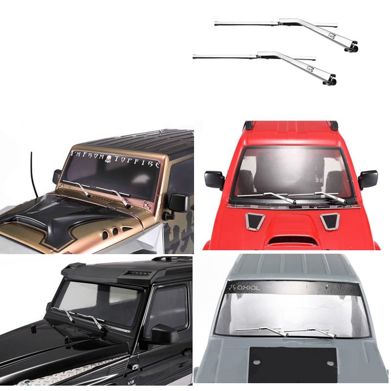1 Pair Metal Wiper For 1/10 RC Crawler Car TRX4 Defender G500 TRX6 G63 SCX10 90046 D90 JIMNY Cherokee