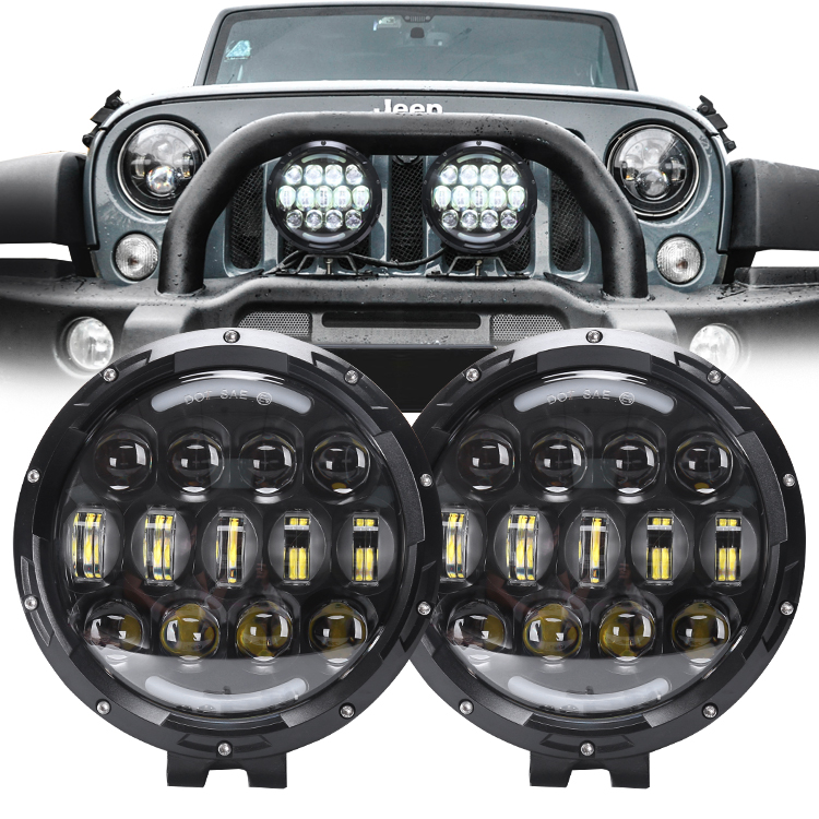 7inch 105W <font><b>Offroad</b></font> <font><b>Car</b></font> 4WD Truck Tractor Boat Trailer 4x4 SUV ATV 24V 12V Spot <font><b>LED</b></font> <font><b>Light</b></font> Bar <font><b>LED</b></font> Work <font><b>Light</b></font> image