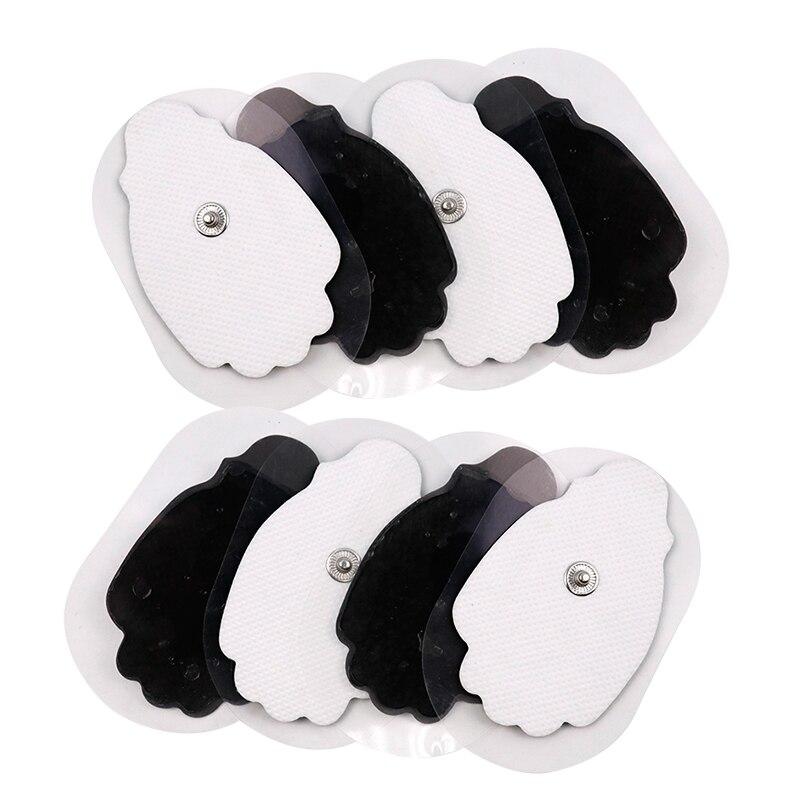 50 шт./100 шт. самоклеющиеся Сменные десятки электродных подушечек для иглоукалывания электрическая терапия массажер для тела стимулятор мышц