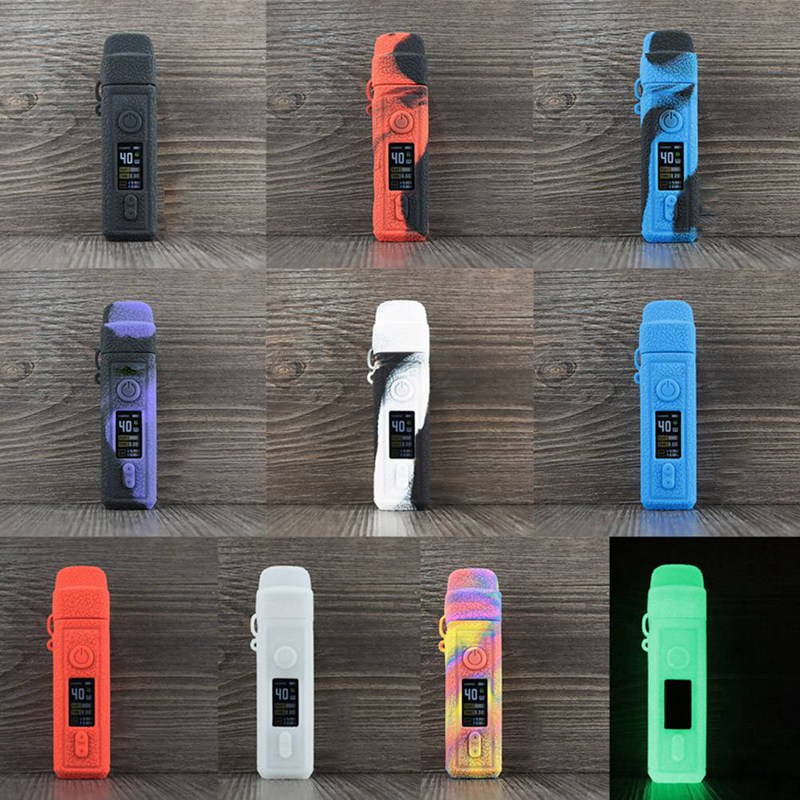 Silicone Protective Case With Drawstring For Voopoo Vinci 40W