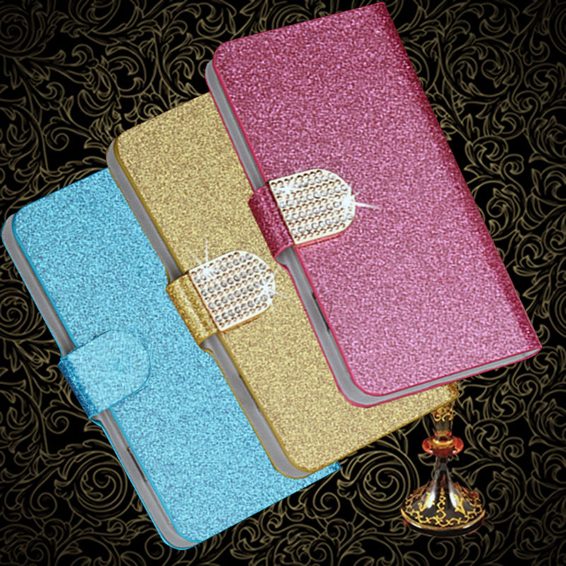 Glitter Diamond Wallet Case For <font><b>Oukitel</b></font> K3 K9 <font><b>K12</b></font> K5000 K8000 K10000 U25 Pro U18 U22 U7 U16 Max flip Leather phone cover image