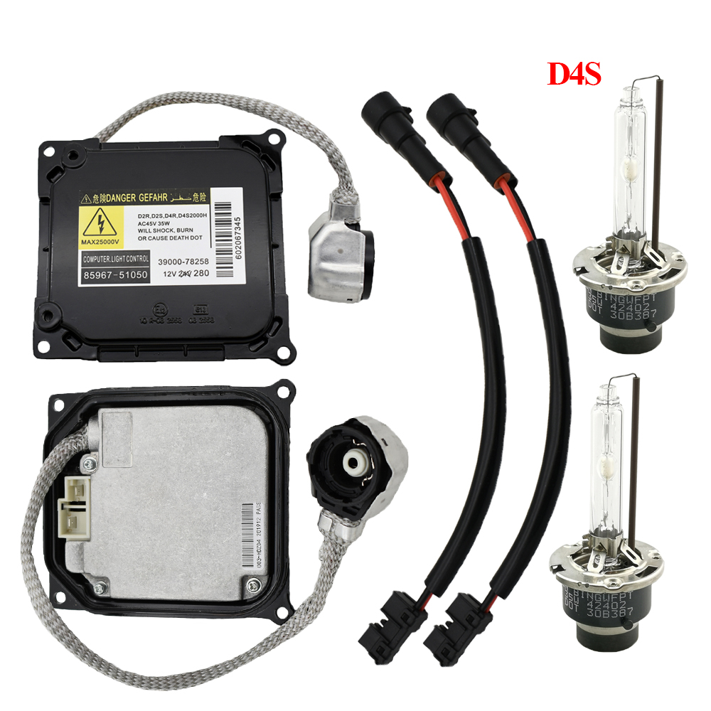 Replacement 8596751050 D4S D4R HID XENON Ballast headlight set KDLT003 DDLT003 85967-51050 For T oyota ES350 GS350 RX350 image