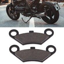 Мотоциклетные передние тормозные колодки полу Металлические тормозные колодки дискового тормоза для CF Мото CF500/600 iPhone X iPhone 5/6/8 ATV Quad Байк Мото Аксессуары