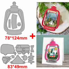 Camp Out&Oil Lamp Metal Cutting Dies Camp Out In Oil Lamp Die Cut For Card Making DIY Decoration New 2019 Embossed Crafts Cards