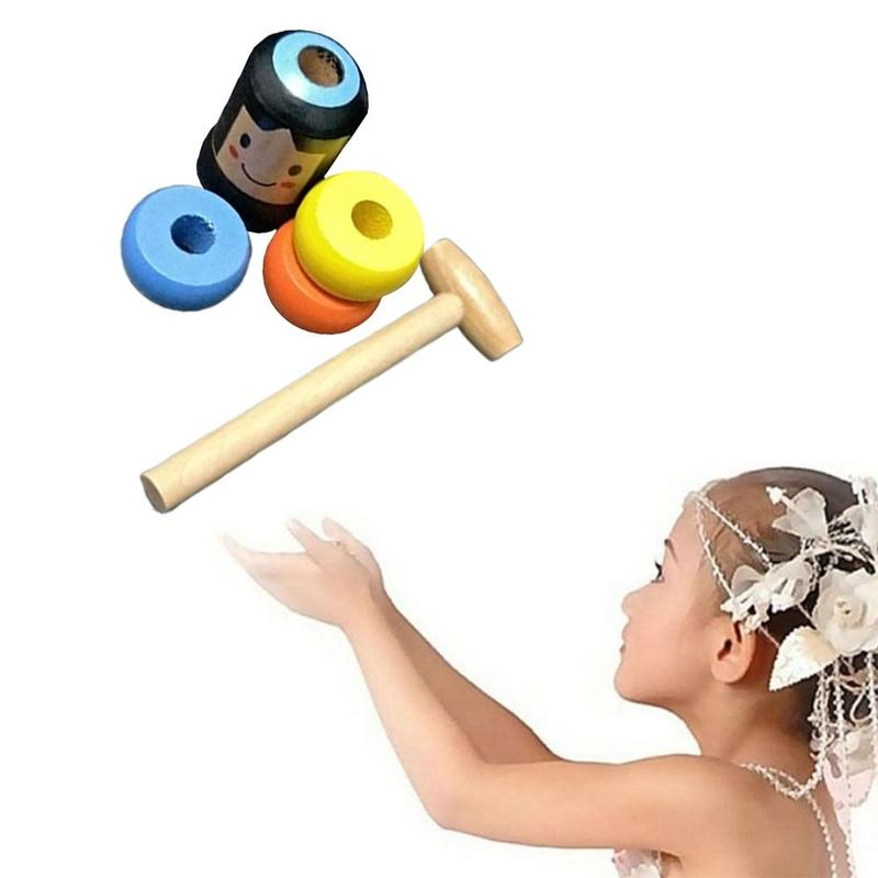 Image 5 - 1set Immortal Daruma Unbreakable Wooden Man Magic Toy Magic Tricks Close Up Stage Magic Props Fun Toy Accessory-in Magic Tricks from Toys & Hobbies