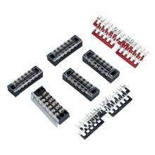 5個デュアル行6位置スクリューターミナルブロックストリップ600 12v 15A