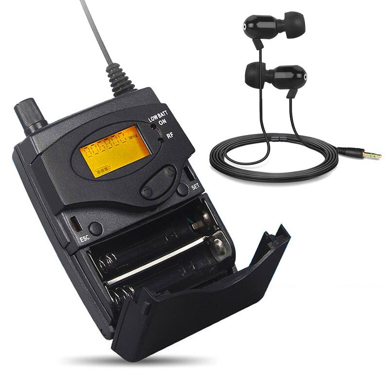 Finlemho In Ear Monitoring Wireless System Professional Audio Single Transmitter For Stage DJ Mixer Console Line Array Speaker