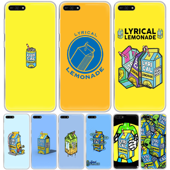 Lyrical Lemonade Phone Case hull For HUAWEI honor mate 8 9 10 20 30 A S X i pro lite transparent hoesjes silicone coque luxury image