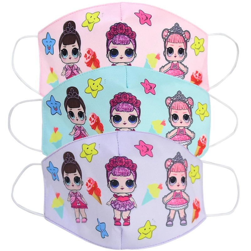 2020 Washable Earloop Facial Mask Adult Kids Cartoon Anti Dust Environmental Mouth Face Mask Surgical Respirator