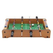 Мини деревянные детские настольные футбольные машины настольные футбольные игрушки для отдыха на природе походные инструменты развлечения