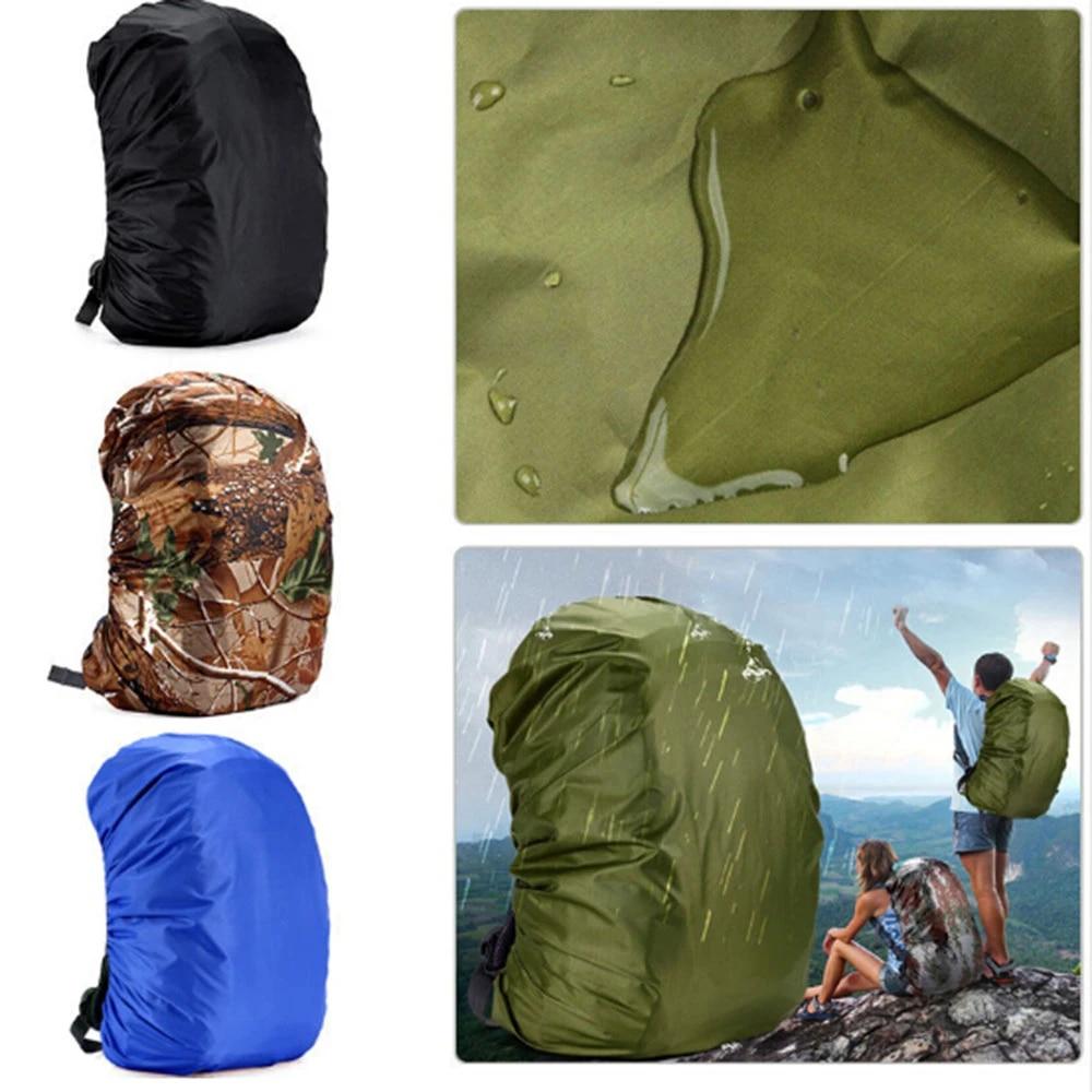 Hot Waterproof Dust Rain Cover Travel Hiking Backpack Camping Rucksack Bag Co/_TI