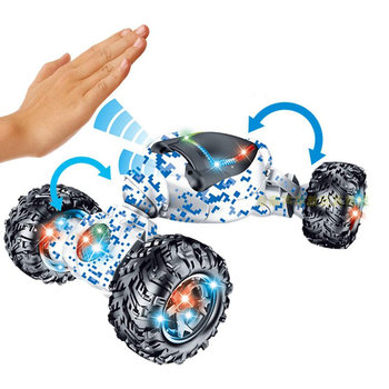 Stunt RC Car Toy Gesture Sensing Twisting Vehicle Gifts with Light Sound Music NSV775