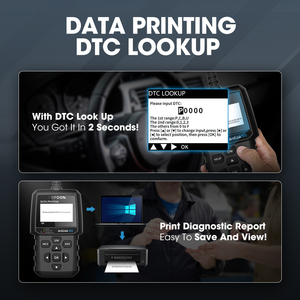 Image 5 - TOPDON AL500 מלא OBD2 סורק רכב OBDII כלי אבחון אוטומטי קוד תקלת קורא קוד לקרוא מנוע לבדוק בדיקת ערפיח תור off IML