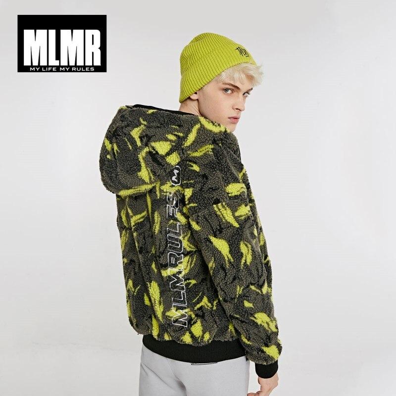 JackJones Men's Camouflage Printed Style Imitation Lambs Wool Jackets 218409510