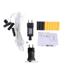 One for Three AA AAA Battery Eliminator Replace 2x 3x AA AAA Battery Cable for Radio Holiday  Light LampElectric N09 20 Dropship