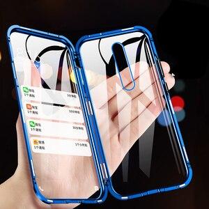Магнитный металлический двухсторонний стеклянный чехол для телефона Xiaomi Mi 8 9 SE CC9 e 9T Pro A2 A3 Lite для Redmi Note 8 7 10 K20 Pro, чехол