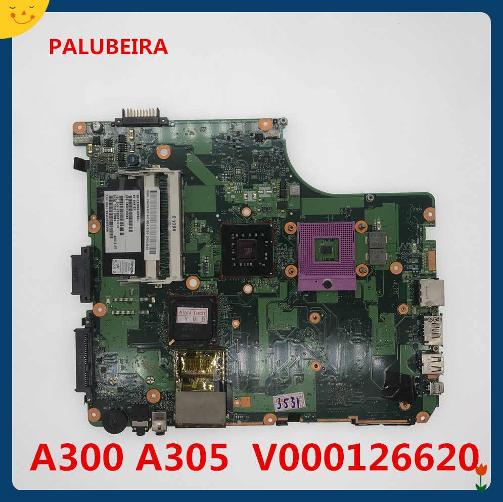 עבור toshiba satellite A300 האם מחשב נייד משולב 6050A2169901 V000126620 SATA DVD עיקרי לוח נבדק