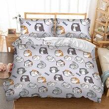 Комплект постельного белья с рисунком кошки постельное белье