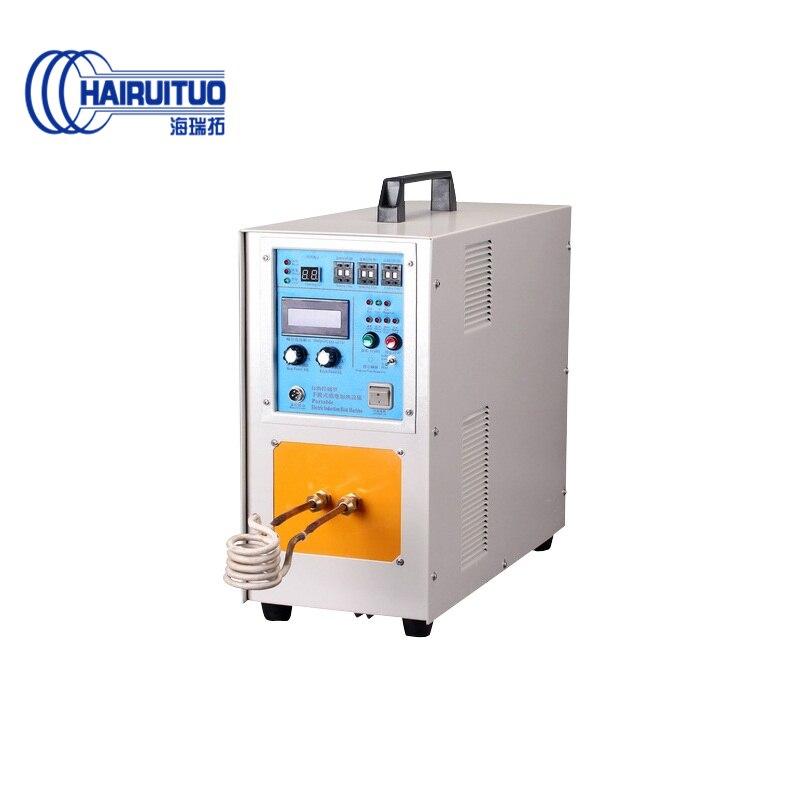 Machine de chauffage par induction à haute fréquence 20KW pour chauffer une tige solide en acier