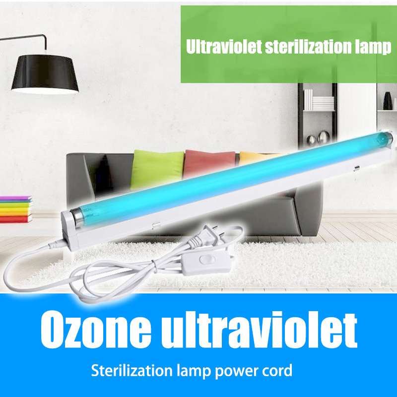 LED UV Lamp Disinfection Power Cable For Light Eliminator Lamp Home Indoor Bedroom Quartz Ultraviolet Lights DNJ998