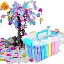 Building-Model Intelligence-Toys Snowflake Educational Kids 3D Plastic for Gift Jigsaw