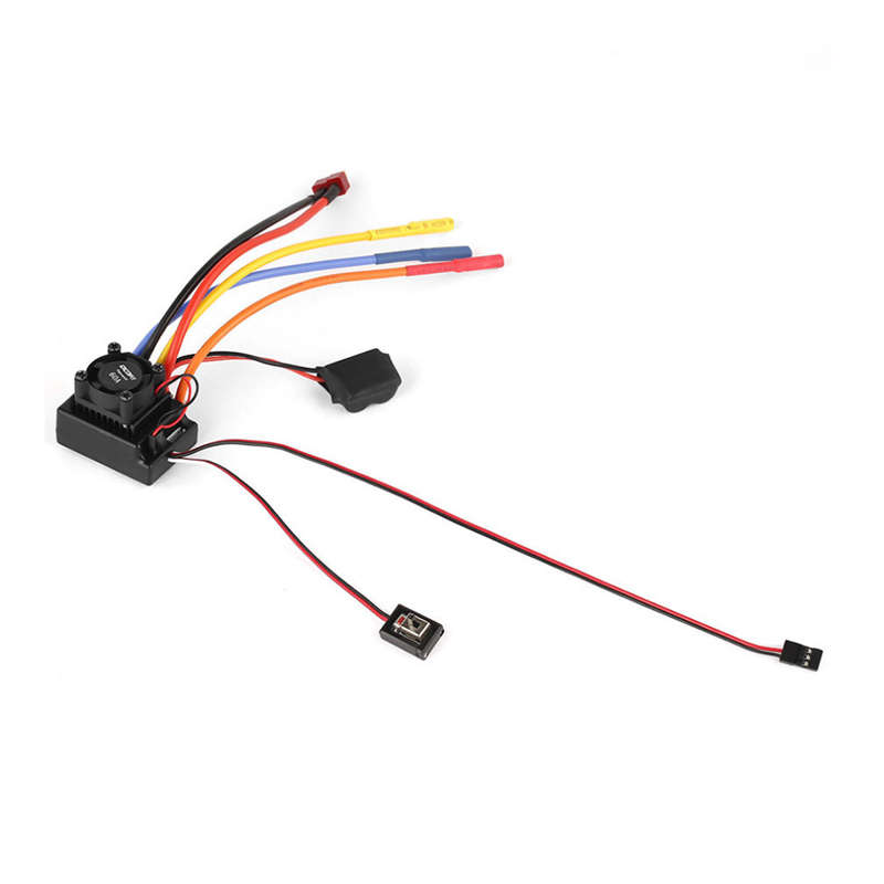1Pcs Ocday Sense/No Sense Brushless Motor And 60A Esc For 1/10 Rc Car Truck Off Road Low Voltage Cut Off Protection Universal Image Sensor     - title=
