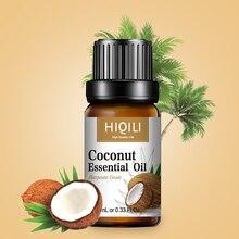 HIQILI кокосовое ароматическое масло 10 мл диффузор ароматическое эфирное масло клубника Яблоко Манго арбуз вишня, лимон оранжевый для мыла