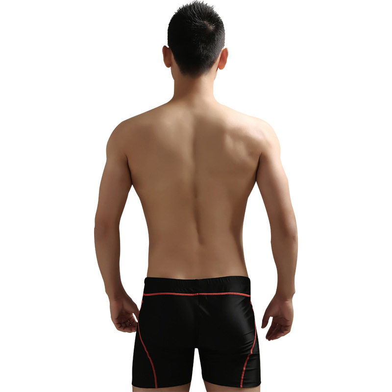 2020 New Style Sea Bbot MEN'S Swimming Trunks Seamless Joint Industry Swimming Seaside Mixed Colors Bathing Suit