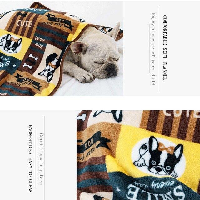 Winter Warm Flannel Dog Blanket  My Pet World Store