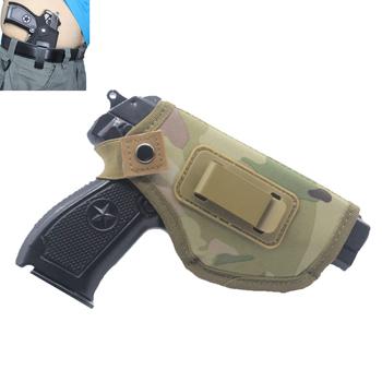 Ukryj futerał na broń XT ukryte kabury futerał na pasek Airsoft akcesoria myśliwskie torba na broń taktyczna prawa ręka tanie i dobre opinie Wolfslaves CN (pochodzenie) Polowanie NYLON Bk TAN MC MO19062603105 glock holster gun holder