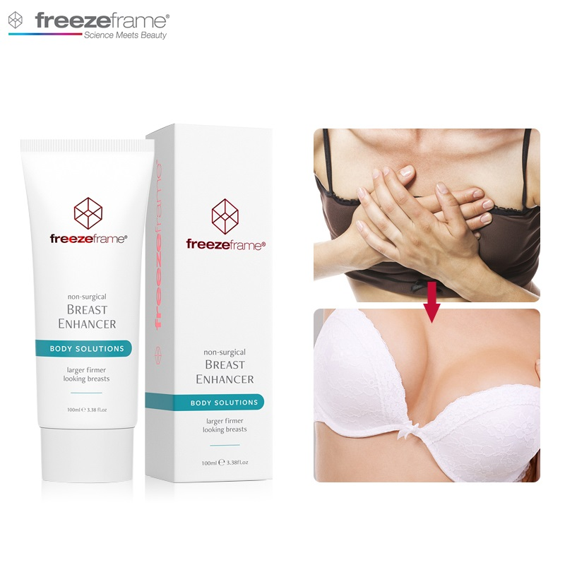 New LOOK Freezeframe Non-surgical Breast Bust Enhancer Clinically Proven Result For Firm Lift Large Increase Bust Body Solutions