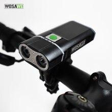 Велосипедный светильник wosawe 2400 люмен со встроенными аккумуляторами