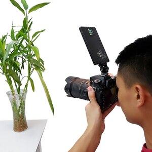 Image 5 - Светодиодный светильник DF YY120, 10 Вт, двухцветный, с регулируемой яркостью, ультратонкий, для видеосъемки, DSLR, YouTube, фотостудии