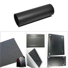1M DIY komputer Mesh Cooler filtr pyłowy-sieć netto Case osłona pyłoszczelna obudowa osłona przeciwpyłowa 30CM pcv obudowa PC wentylator tanie tanio ANENG CN (pochodzenie) Pył okładki