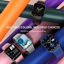 1.69 polegada 2021 smartwatch masculino tela sensível ao toque completo rastreador de fitness ip67 à prova dip67 água mulher bluetooth relógio inteligente para xiaomi telefone
